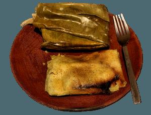 platos tipicos de El Salvador tamales