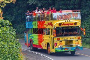 Buses Alegres en El Salvador