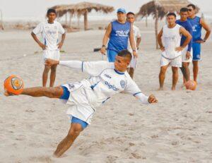 El futbol de playa