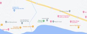 mapa playa conchalio
